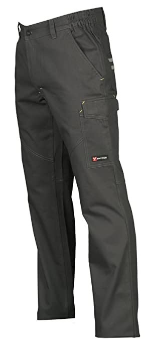 48 opinioni per Pantalone da Lavoro 100% Cotone Multistagione Con Tasche Anteriori Payper Worker