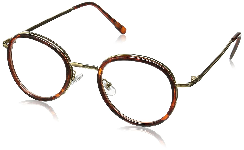Amazon | (リリーブラウン)Lily Brown カラーフレームボストンメガネ LWGG162378 58 BRW F | ファッション眼鏡 通販