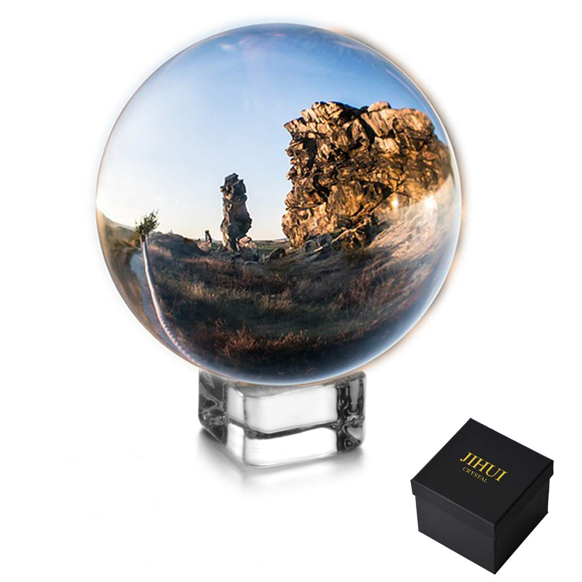 Crystal Ball Sphere Photography Prop 70mm (2.75'') Clear
