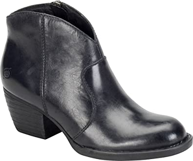 Womens Boots born black leather kerri grain ug5w77u2