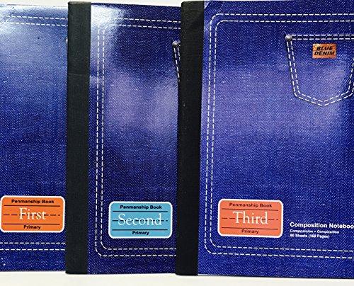 JMD StarPacks 3 Pack Penmanship Book Primary - Set of (Penmanship Set)