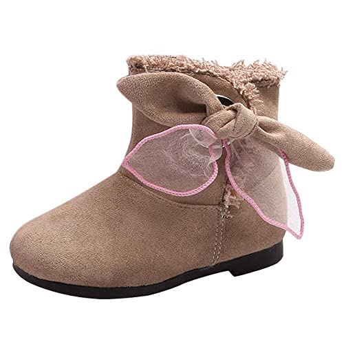 af00be47c3c4fa Kinderschuhe Winterstiefel Jungen Warm Gefütterte Winter Schuhe Kinder  Schneestiefel Mädchen Rutschfest Outdoor Stiefel