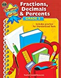 Fractions, Decimals and Percents, Grade 5, Foster Ruth and Teacher Created Materials Staff, 1420686305
