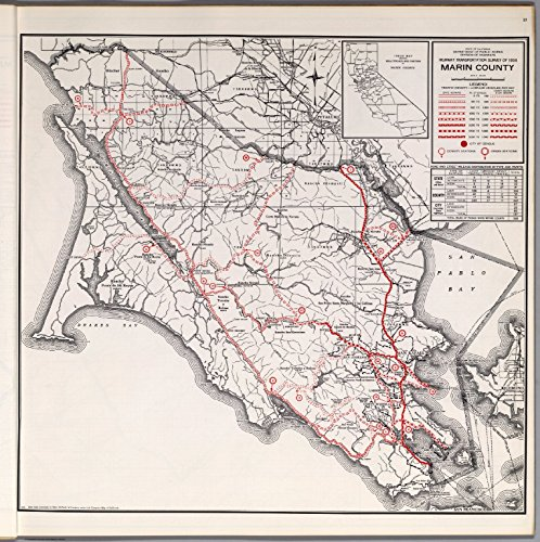 Map Poster - Marin County - 24