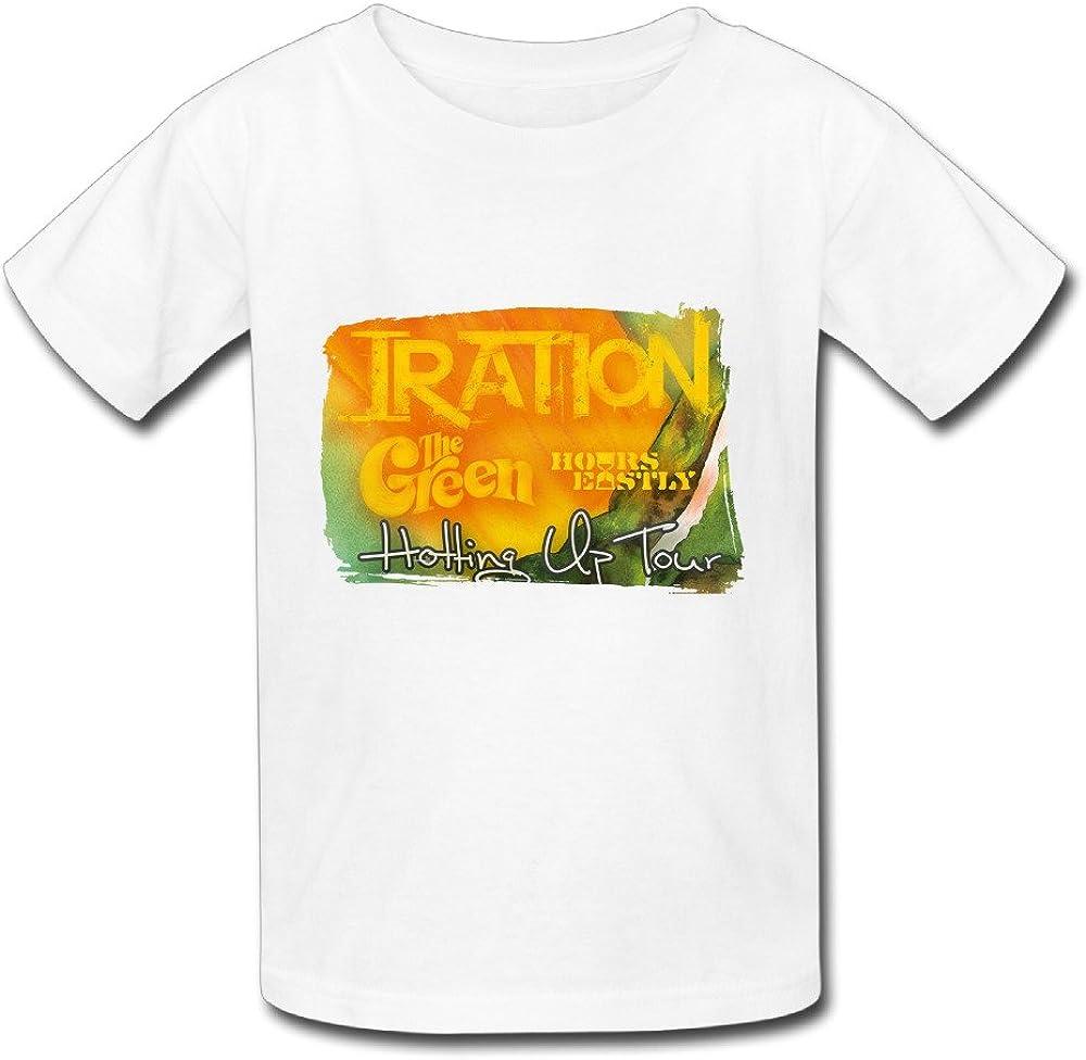 T camisa para grandes juventud mundo de música Iration ...