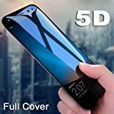 KTCOO 5D Curved 9H Full Screen Tempered Glass Screen Protector for Asus Zenfone Max Pro M1 ZB601KL (Black)