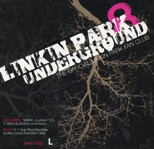 Linkin Park Underground 8 Fan Club (Box Set with Demos CD, Large T-Shirt, Patch, Letter, and Guitar Pick)