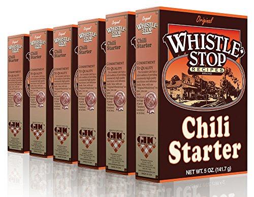 Original WhistleStop Cafe Recipes   Chili Starter Mix   5-oz   Case of 6