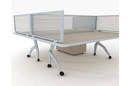 Bon Desk Dividers   Frontier Office Desk Privacy Panel 12H
