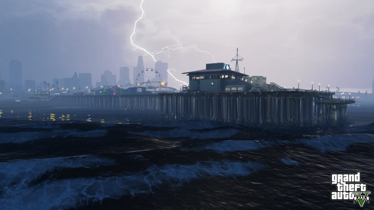 Download image gta5 pc android iphone and ipad wallpapers and - Amazon Com Grand Theft Auto V Xbox One Take 2 Interactive Video Games