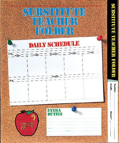 Elementary Substitute Teacher Folder