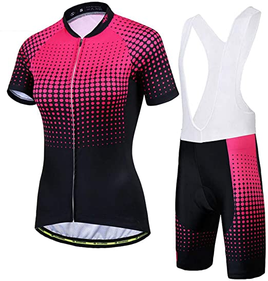 Conjunto Ropa Equipacion Traje Ciclismo Mujer para Verano, Maillot ...