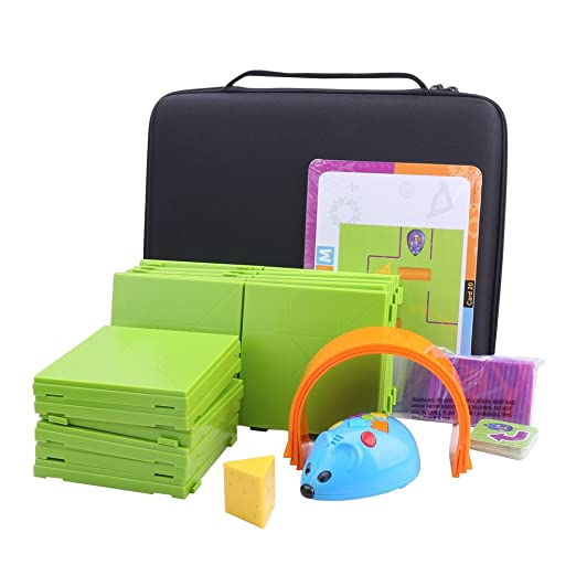 a34f3ee67dac Storage Organizer Carrying Hard Case for Code and Go Robot Mouse Activity  Set by Aenllosi (Black)