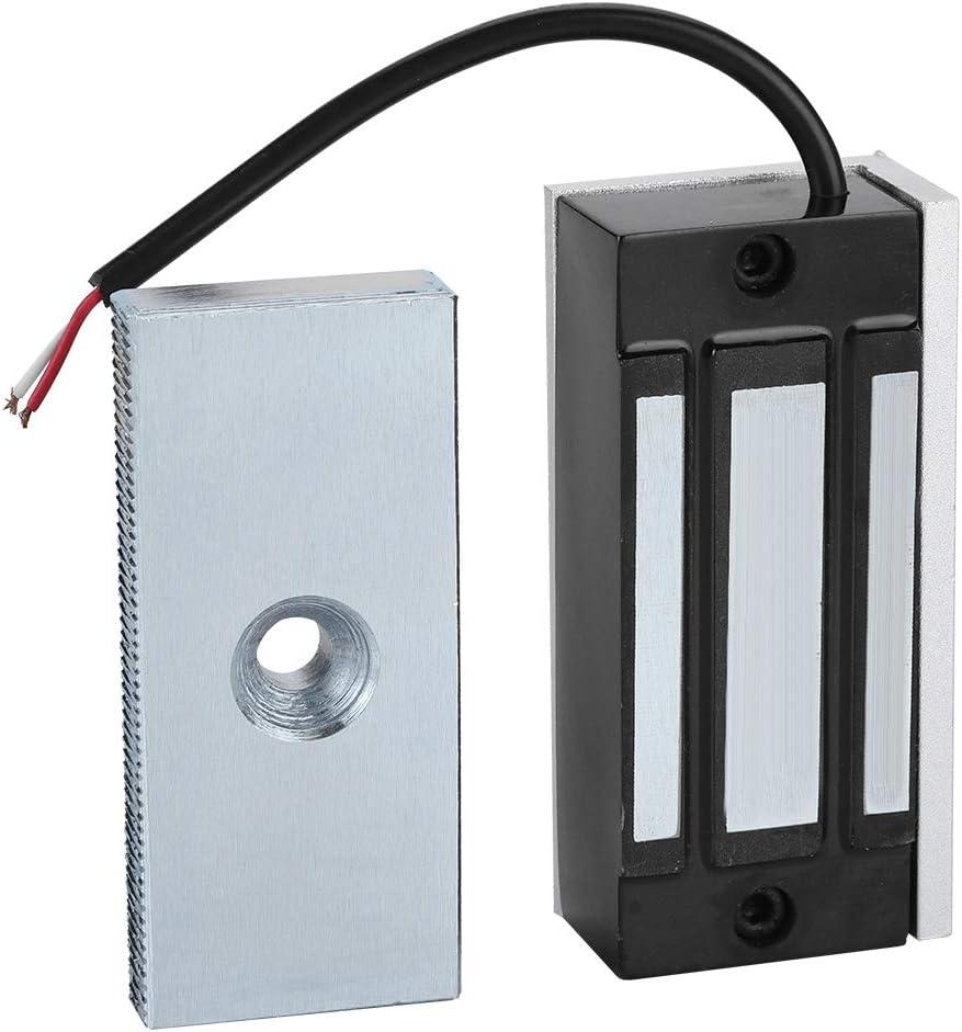 60KG Strong Force Magnetic Access Control Kit Power on Lock DC12V for Door Cabinet Drawer Pbzydu Mini Electromagnetic Locks