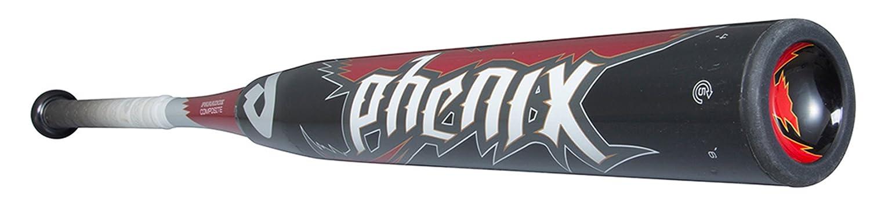 DeMARINI(ディマリニ) バット フェニックス ソフトボール用 (ゴム3号) WTDXJSOPR ブラック 83cm/700g平均 B014H7MNOW