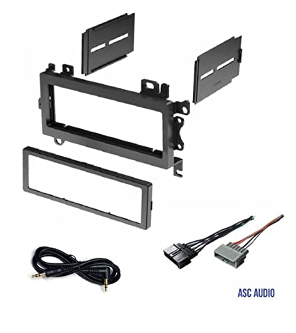 61hnFR 9GTL._SX425_ amazon com asc car stereo dash install mount kit and wire harness