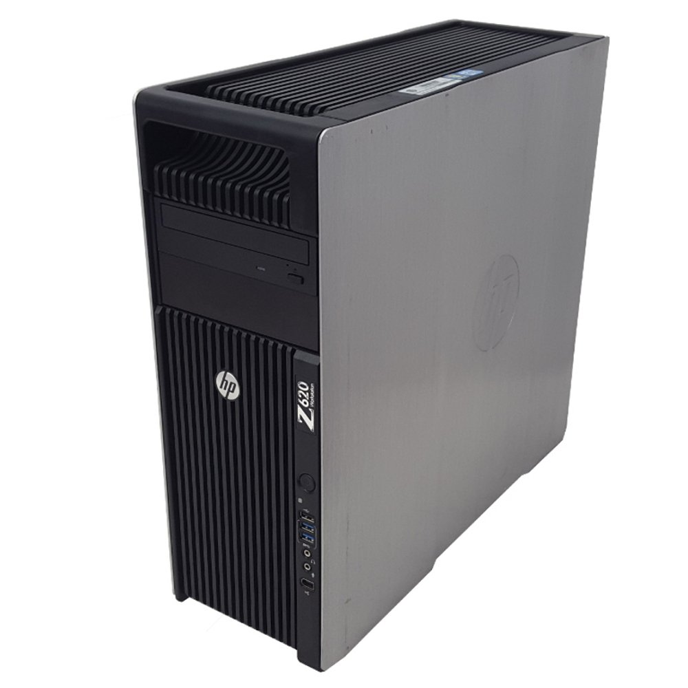 HP Z620 Workstation 2X Intel Xeon E5-2670 2 6GHz 16-Cores Total 96GB RAM No  Hard Drive NVIDIA Quadro 600 No OS (Renewed)
