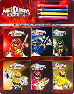 Power Rangers Coloring Book And Pencil Set By Parragon Books 2013 Paperback