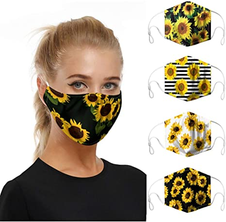 for Women Air Filter Mouth Covers Adults Fashion Face Covers Novelty Face Covering for Unisex for Outdoor Cycling Ski Warm Washable Face Cover Reusable Animal Printed Face Bandanas