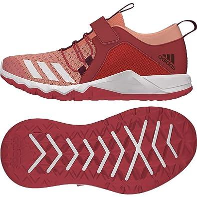 buy popular 468d5 d2ac8 adidas Unisex-Kinder Rapidaflex 2.0 Fitnessschuhe, Orange  (CortizFtwblaCorrea 000