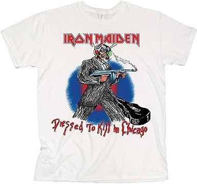 Rock Off Iron Maiden Chicago Mutants 2 Oficial Camiseta para ...