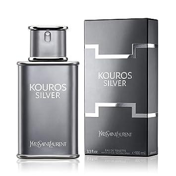 Amazon.com   Kouros Silver By Yves Saint Laurent 3.3 oz Eau De Toilette  Spray for Men   Beauty 49d843b4d46