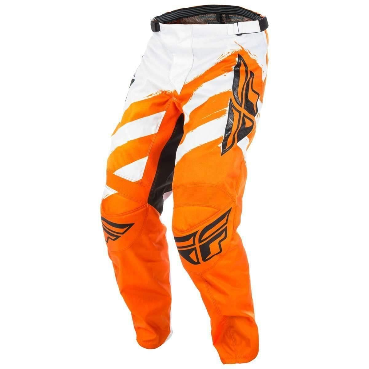 Orange//White, Size 28 Fly Racing Mens Pants