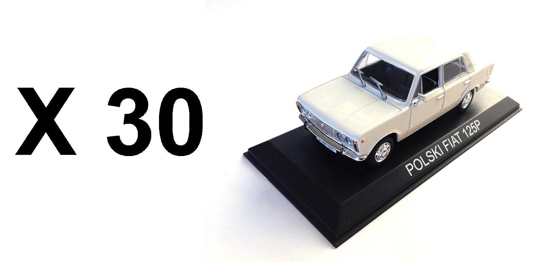 elige tu favorito Générique Set of 30 Cars Polski Polski Polski FIAT 125P blanco 1 43 IXO ist Car Auto B77  Disfruta de un 50% de descuento.