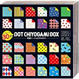 ショウワグリム 折り紙 両面 ドット ちよがみ BOX 120枚入り 23-2187