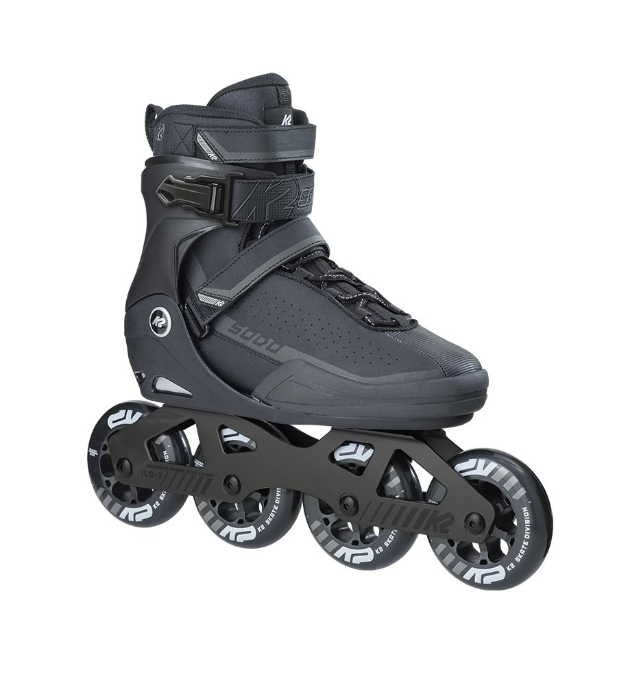 K2 Skate Sodo Inline Skates, Size 9, Black/Gray by K2 Skate