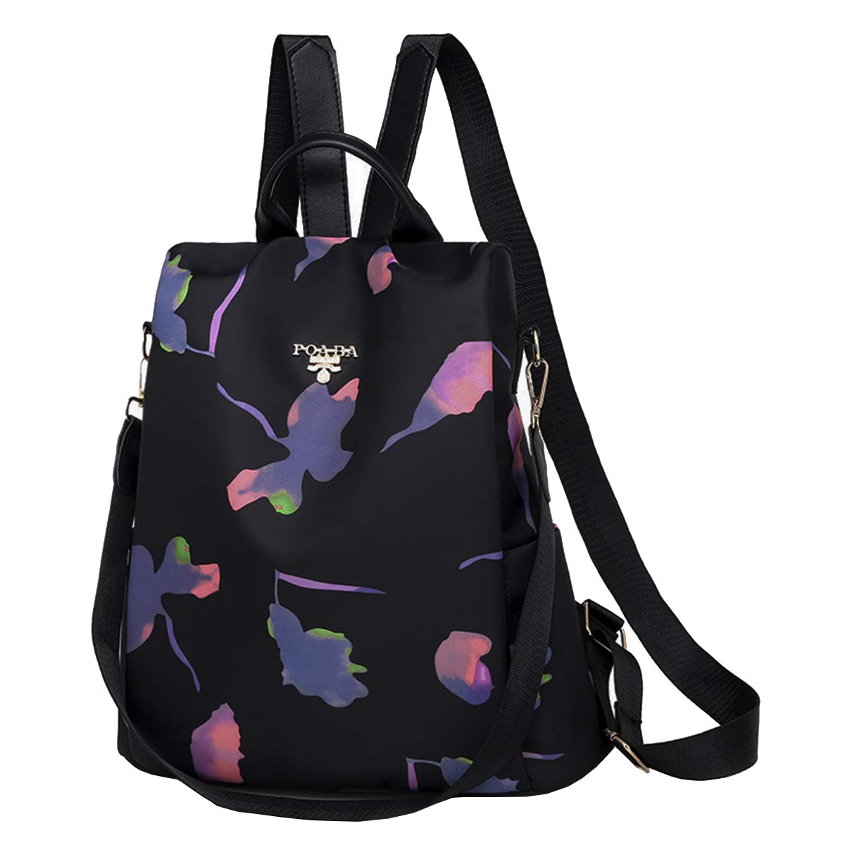 SPEEDEVE Women Backpack Anti-Theft Shoulder Bags,Butterfly-Black