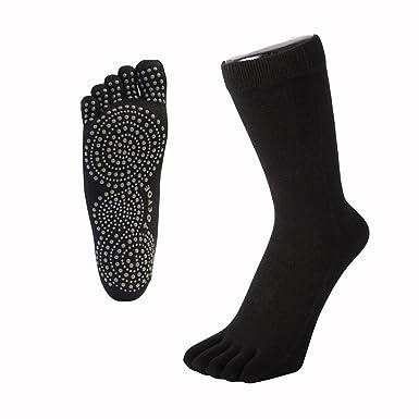 Toe 2 Toe TOETOE YOGA & PILATES - Calcetines antideslizantes para dedo del pie: Amazon.es: Deportes y aire libre