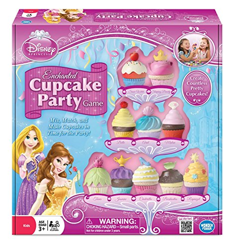 - Disney Princess Enchanted Cupcake Party Game