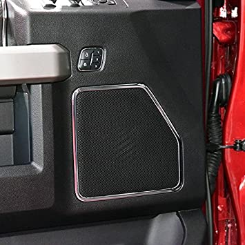 Justautotrim Inner Cup Holder /& Panel Door Handle Chrome Cover Trims Kit for 2015 2016 2017 Ford F150 2017 2018 F250 F350 Super Duty Accessories Rear Reading Light
