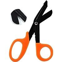 Hoja de acero inoxidable, tijeras para vendajes, lona gruesa corta de corte rápido, tijeras para vendajes médicos y de…