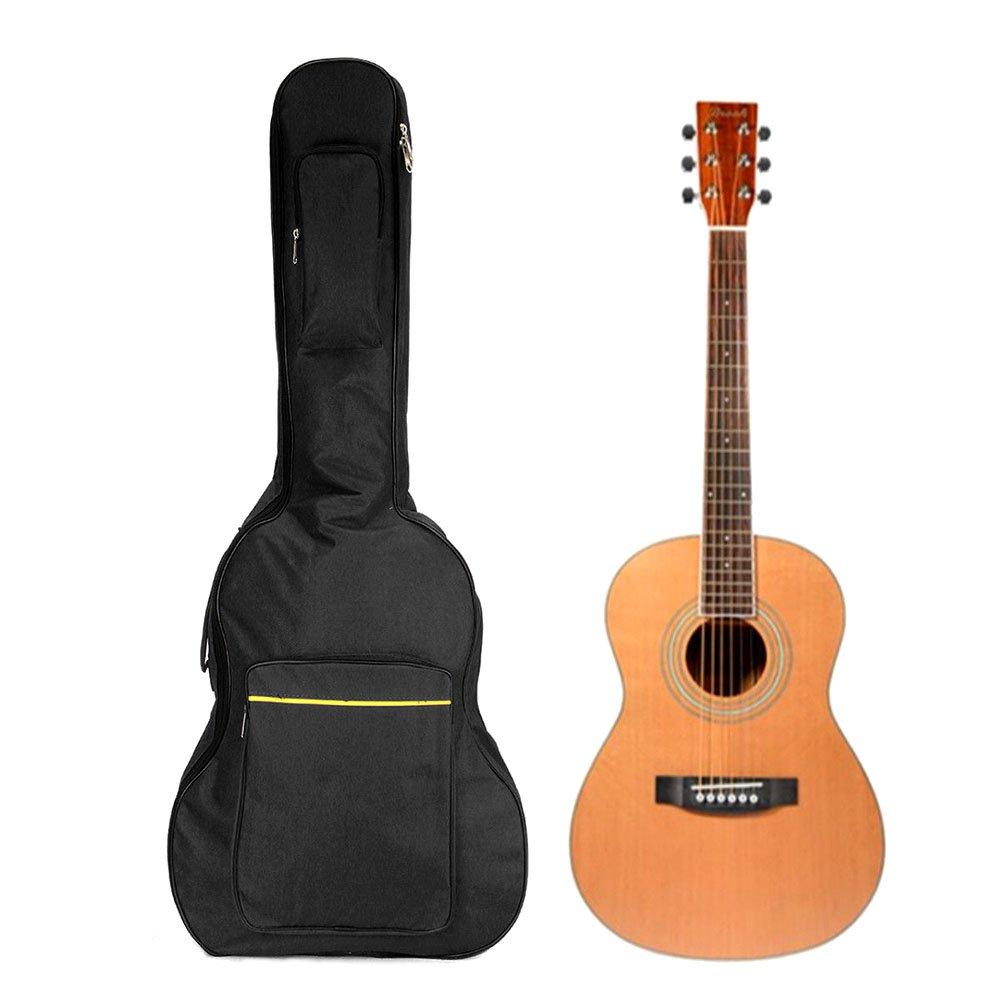 Espeedy 104,1/cm Guitare acoustique classique Dos Sac de transport double sangle rembourr/ée Housse de transport