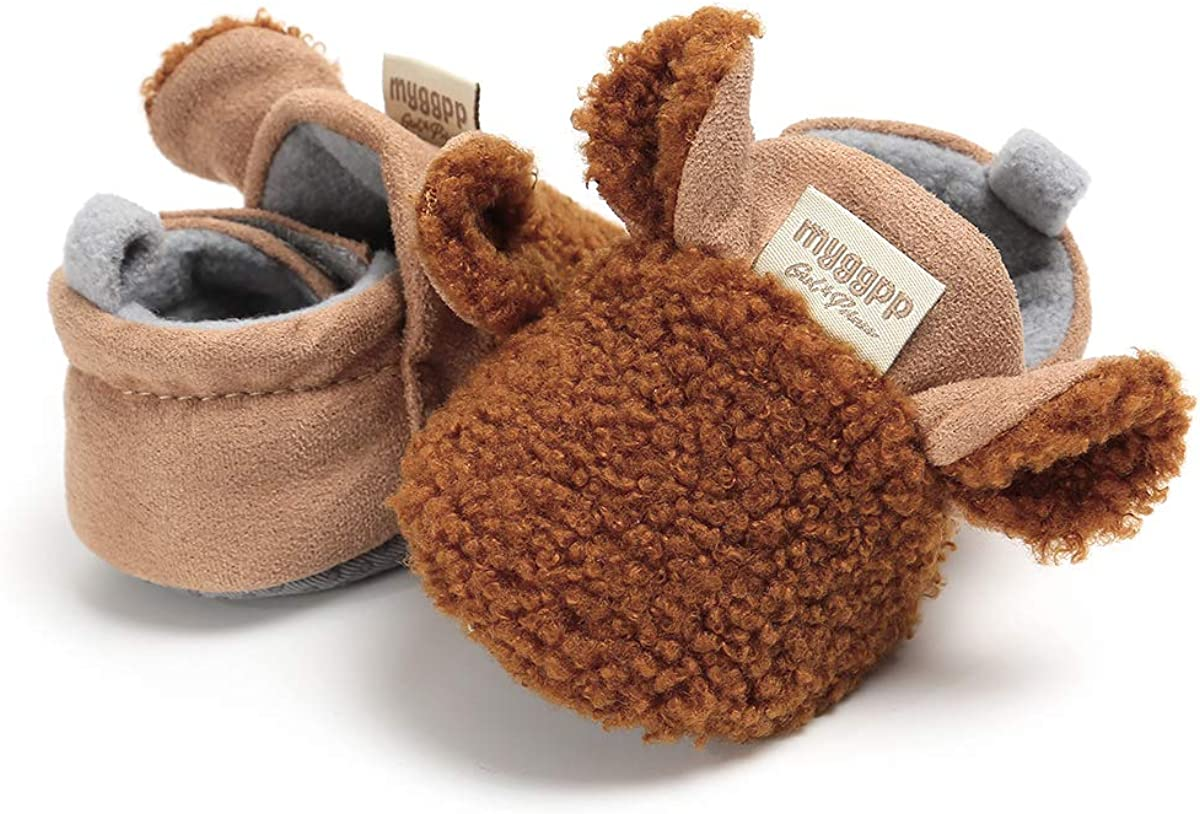 MUST SEE CUTE Hand Crocheted Infant /'Fox/' Booties BRAND NEW Size 0-9 M