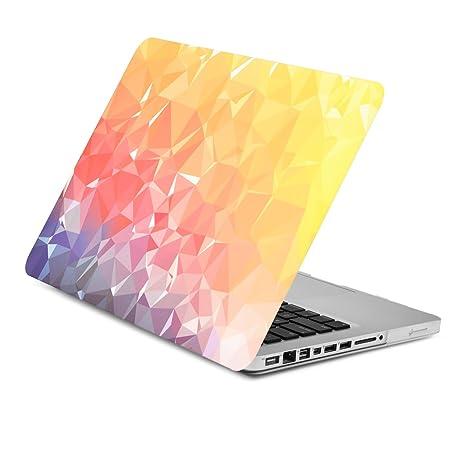 UNIK CASE Gradient Ombre Graphics Matte Hard Shell Case for Macbook Retina 13