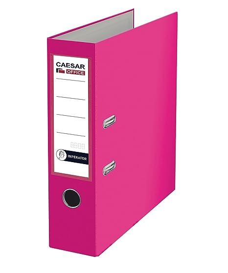 Imperator profesional de papel (A4 polipropileno archivadores de cartón, color rosa (Pack de