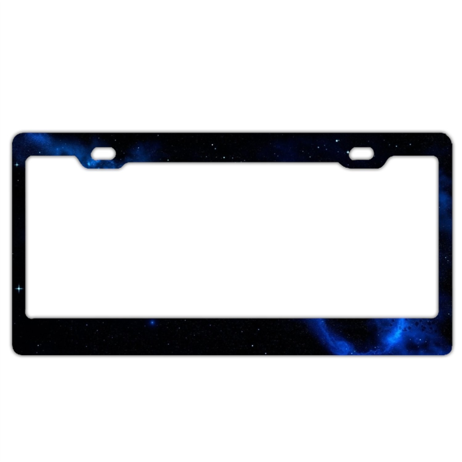 beach sand license plate frames stainless steel car licence plate