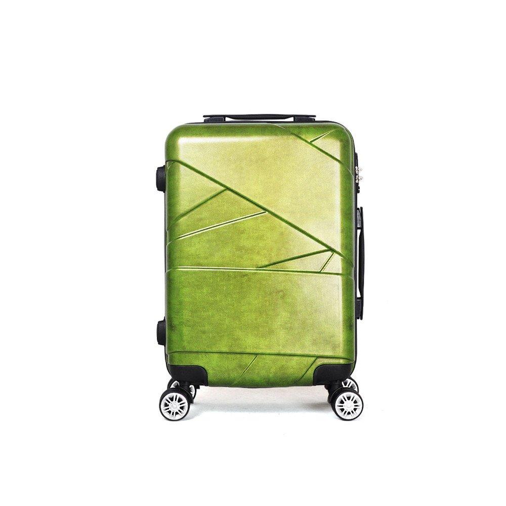 旅行用品荷物スーツケーストロリーケース プレミアム回転PCユニバーサルホイールプルロッドボックス20/24/28インチ旅行パスワードボックス取り付けケース (サイズ : 24) B07SCXLSLK  24
