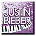 Justin Bieber Small Napkins (16ct)