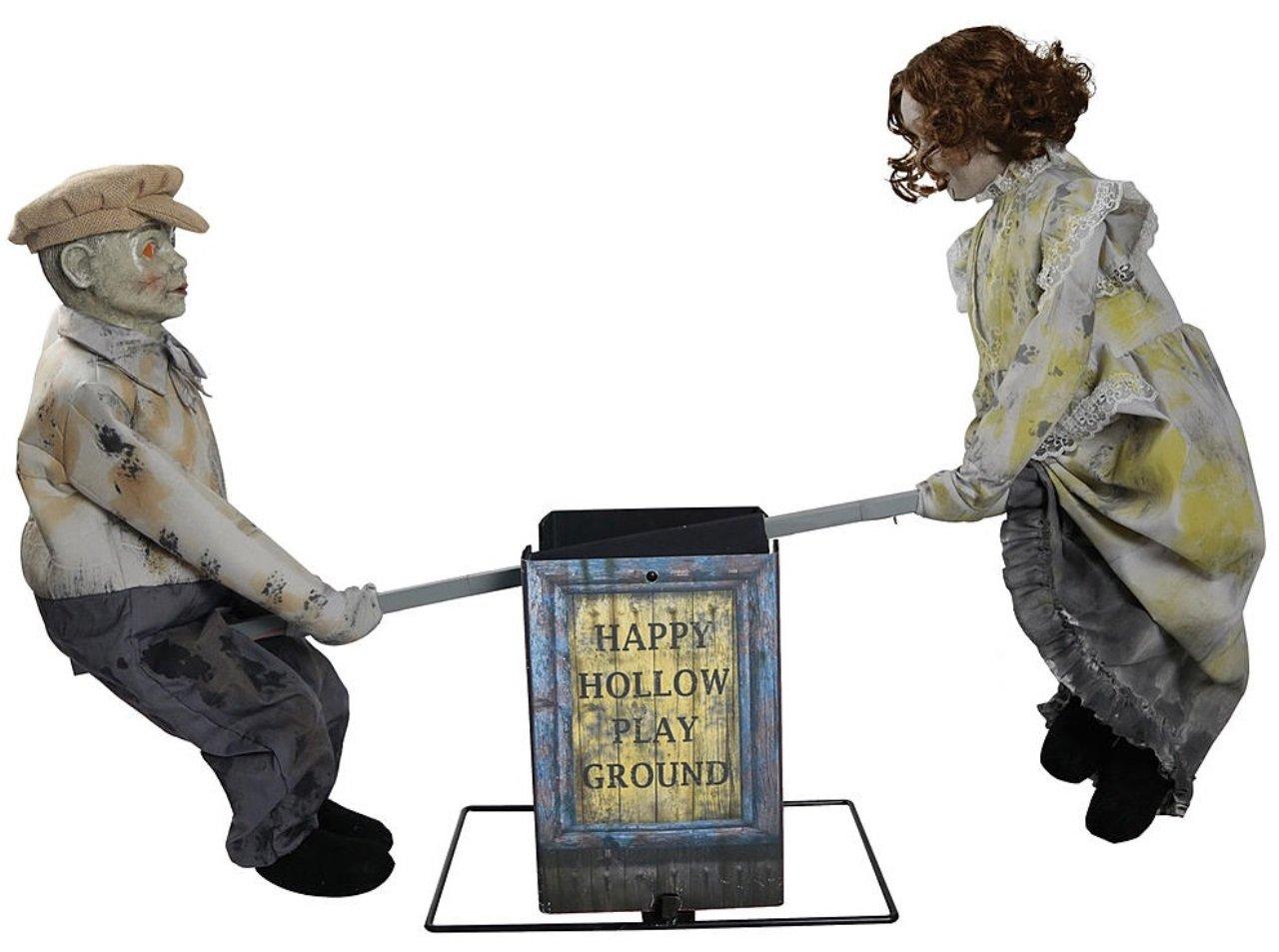 Halloween See Saw Dolls