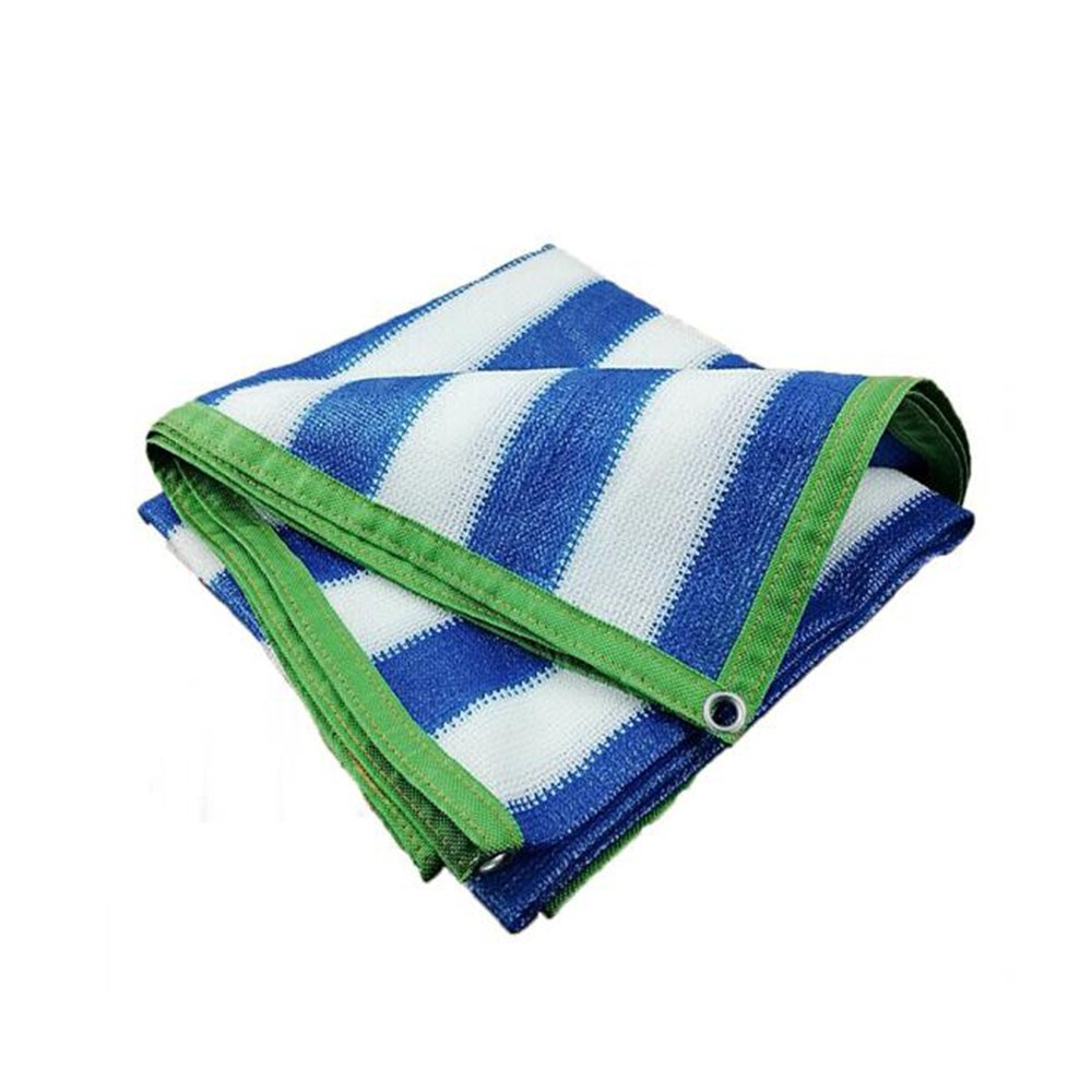 HAIZHEN シェードセイル 85%サンシェードUVブロッキング屋外パティオ芝生ガーデンキャノピー多くのサイズをカバー 屋外 (色 : Blue, サイズ さいず : 9×6M) B07FMK95B4 9×6M|Blue Blue 9×6M