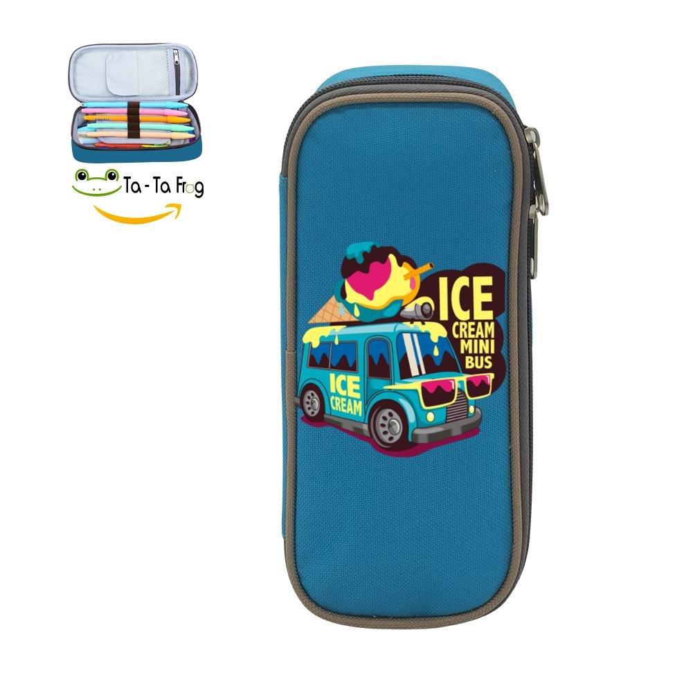 Amazon.com: Hielo para niños crema Mini autobús Graphic ...