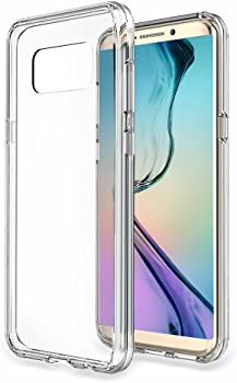 Choetech Galaxy S8+ or S8 Crystal Clear Slim Hybrid TPU Case