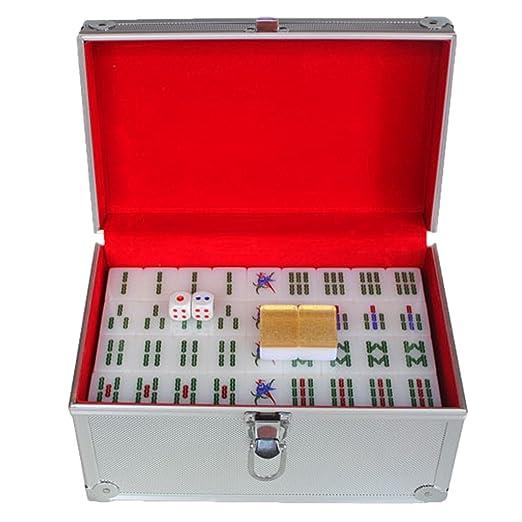 LI JING SHOP - Tamaño grande de la tarjeta de Mahjong del oro de ...