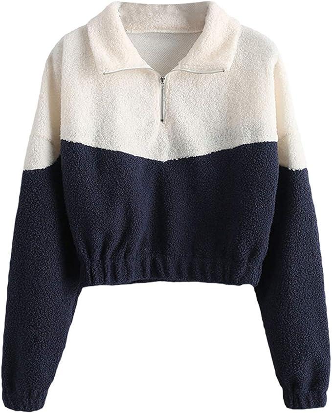 Pullover mit reißverschluss damen