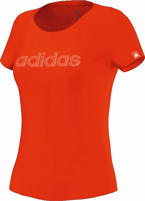 adidas t shirt donna rossa