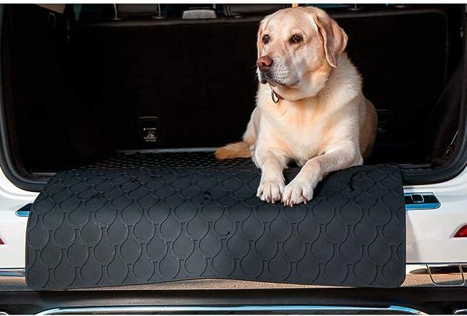 Gledring Rubbasol Rubber Universal Doggy Mat Rear Bumper Protector Large 85 X 65 Cm Auto